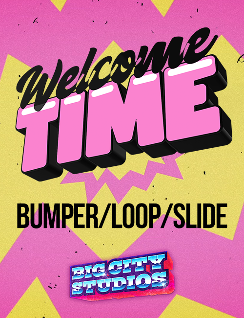 God is Love - Welcome Time Bumper/Loop/Slide