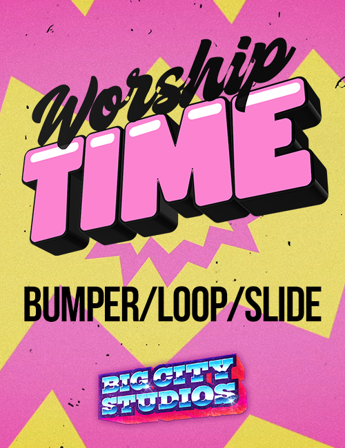 God is Love - Worship Time Bumper/Loop/Slide