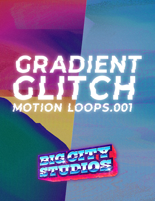 Gradient Glitch Loop Pack 001