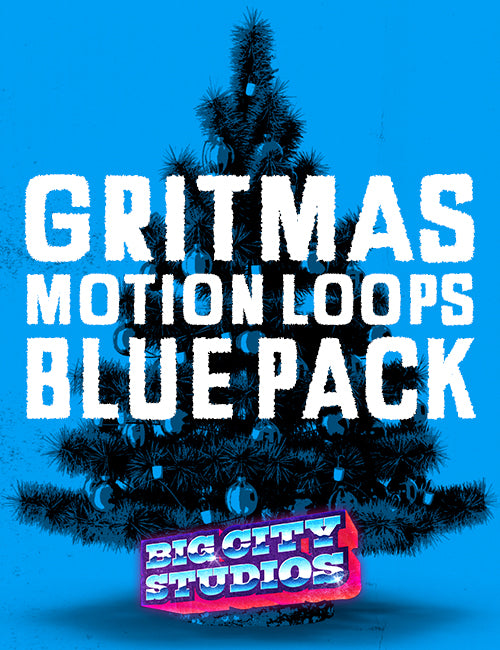 Gritmas Motion Loops Blue