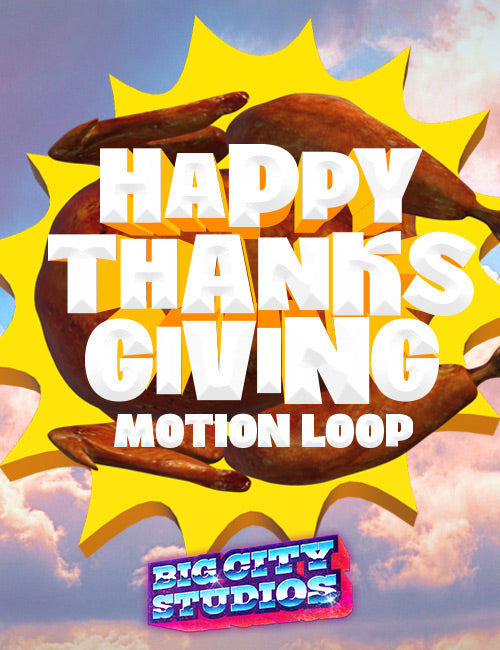 Happy Thanksgiving Motion Loops