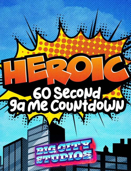 Heroic 60 Second Game Countdown
