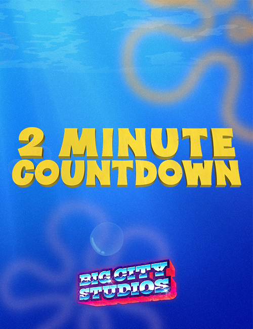 Underwater Mania - 2 Minute Countdown