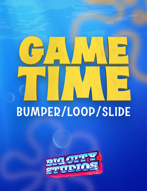 Underwater Mania - Game Time Bumper/Loop/Slide