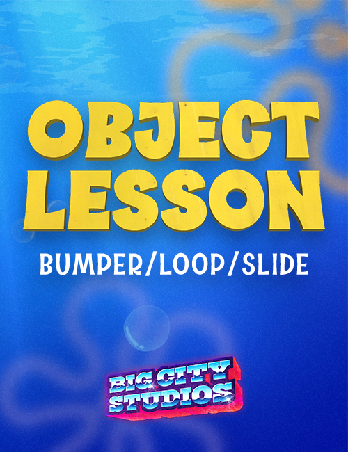 Underwater Mania - Object Lesson Bumper/Loop/Slide