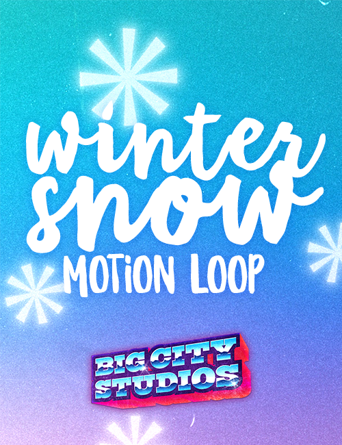 Winter Snow Motion Loop