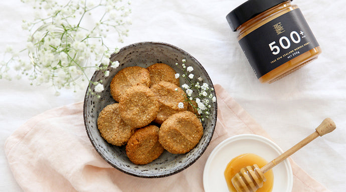 recipe for mothering cookies with manuka honey