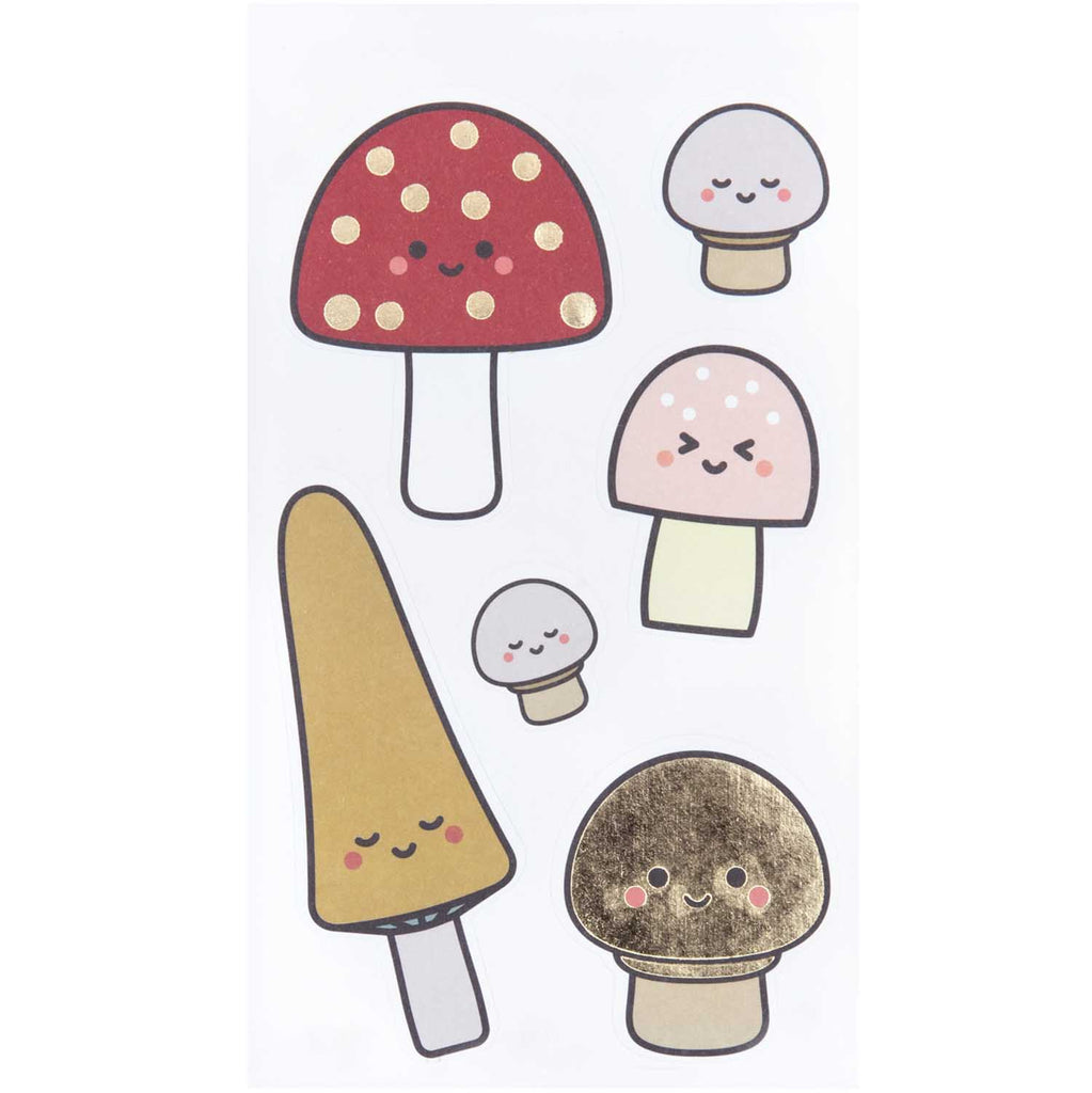 מדבקות: Mushrooms