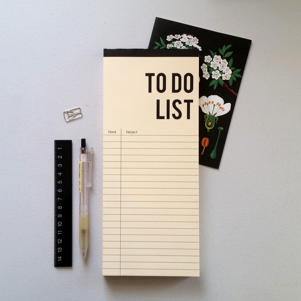 נוטפד: To Do List