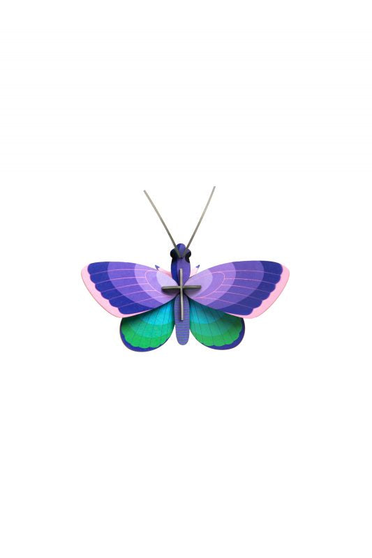יצירה בנייר: blue copper butterfly