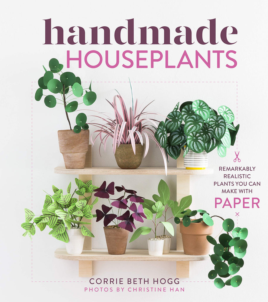 ספר יצירה - HANDMADE HOUSEPLANTS