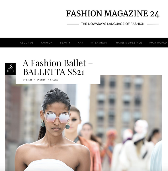 A Fashion Ballet - BALLETTA SS21
