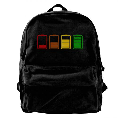 Personalized Photo Canvas backpack
