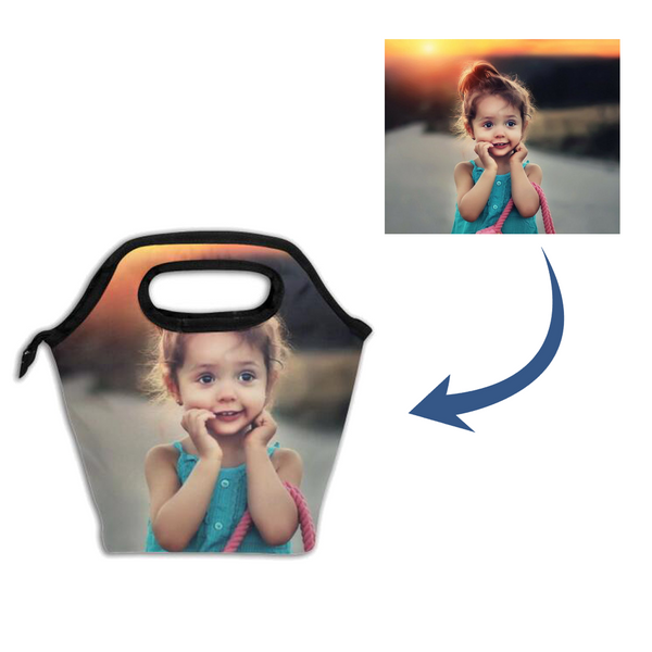 Personalized Photo Insulation Lunch Bag