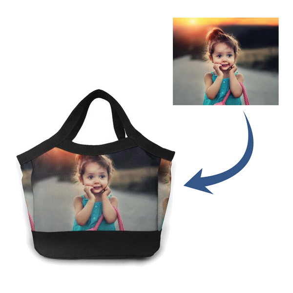 Personalized Lunch Photo Bag
