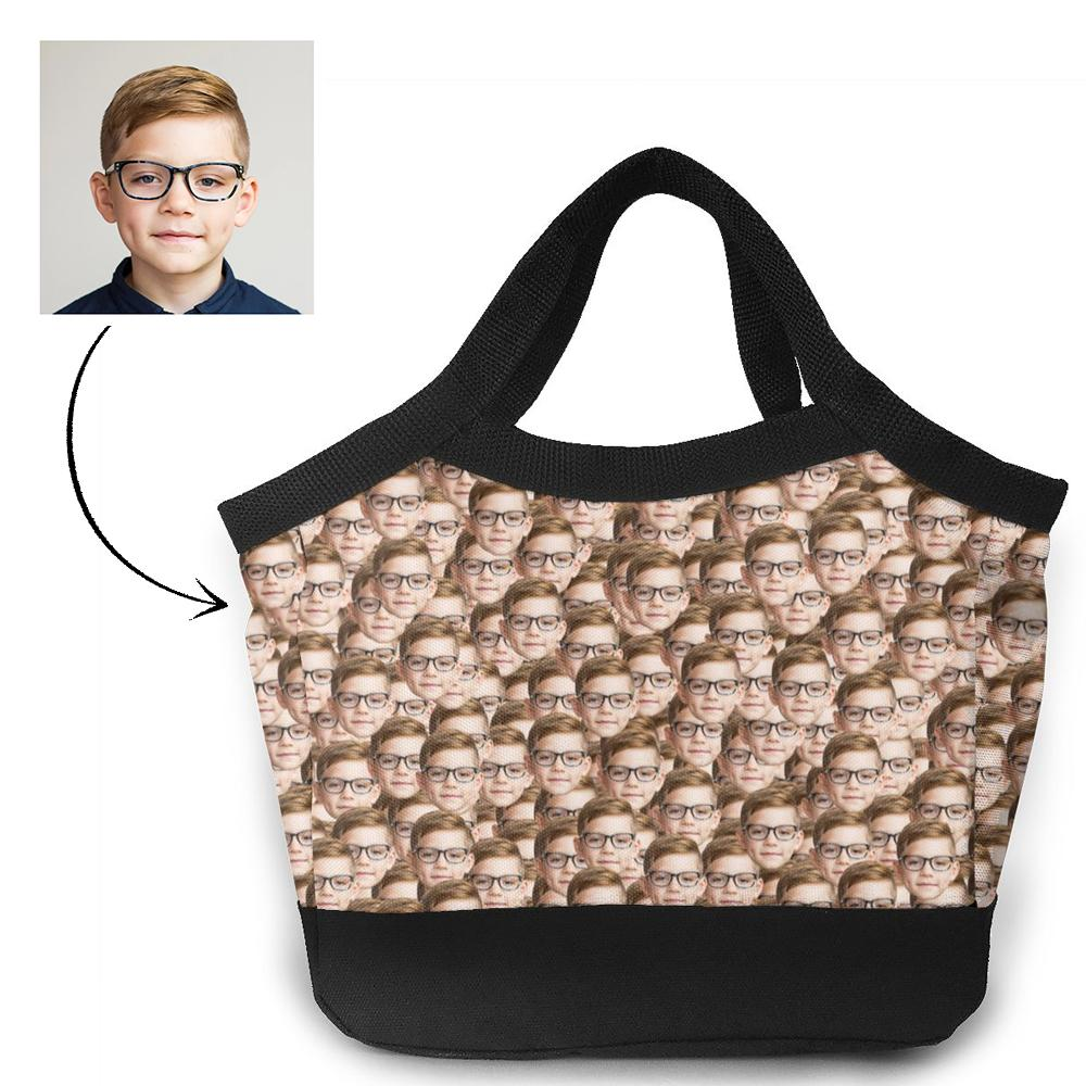 Personalized Lunch Photo Bag - Mash Face