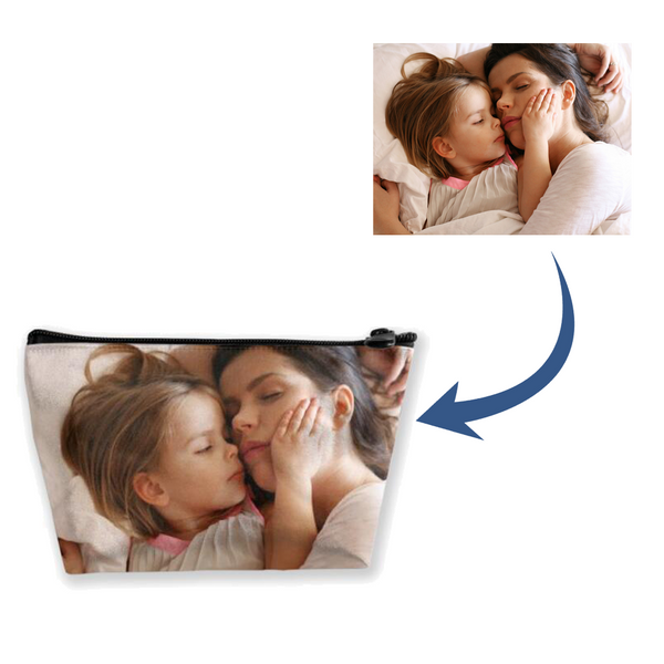 Custom Photo Trapezoid Storage Bag