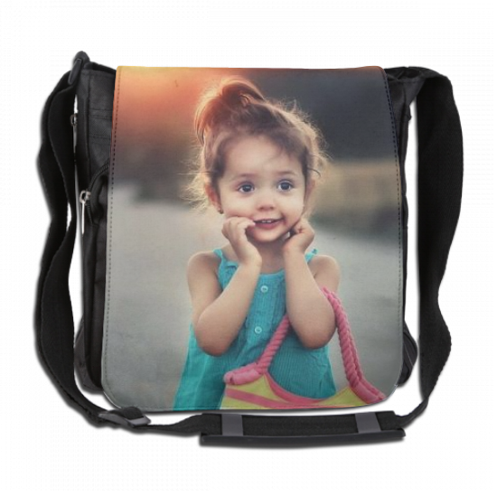 Personalized Photo Single shoulder pack, Tote Bags