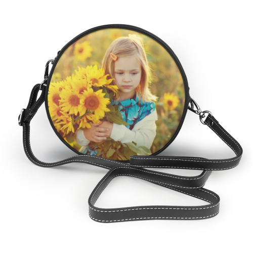 Personalized Photo Leather Shoulder Bags