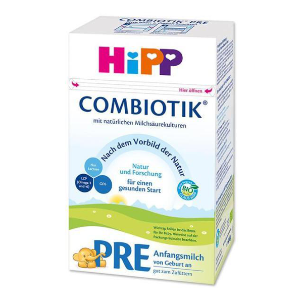 Hipp German stage Pre Infant formula 0+ months