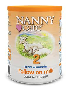 Nanny Care stage 2 Follow on goat formula 6+ months