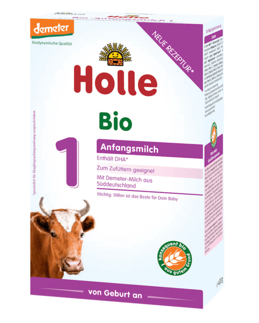 Holle stage 1 Infant formula 0+ months w/DHA