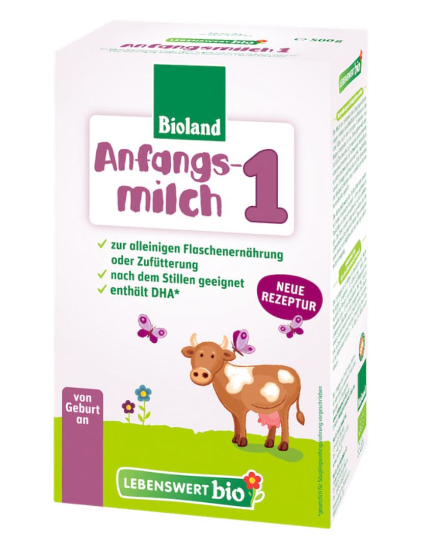 Lebenswert stage 1 Infant formula 0+ months w/DHA