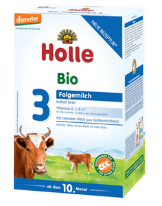 Holle stage 3 Follow on formula 10+ months w/DHA