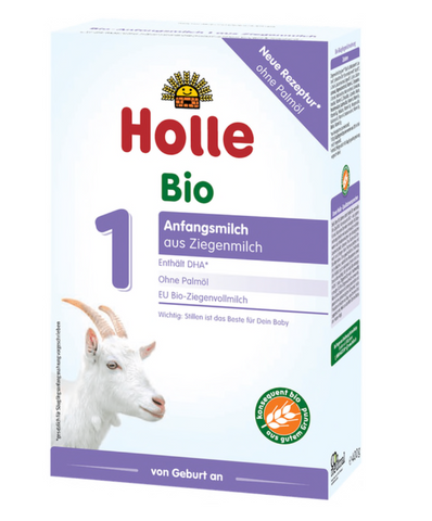 Holle stage 1 Infant goat formula 0+ months w/DHA