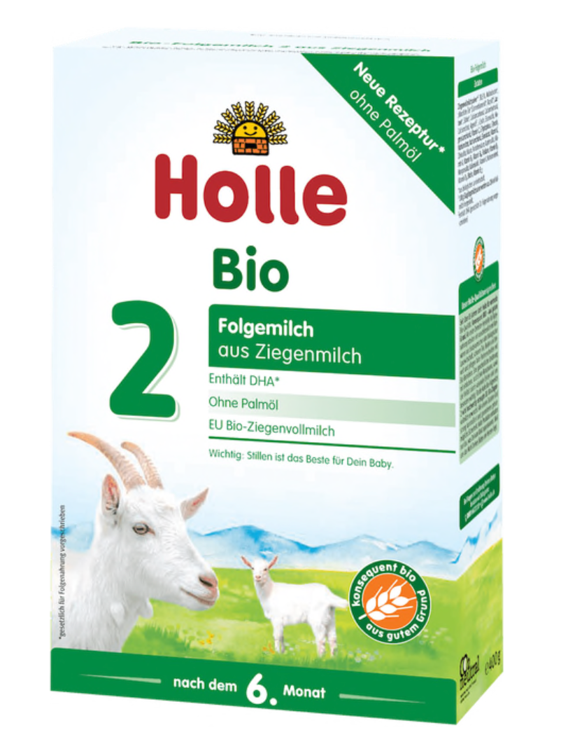 Holle stage 2 Follow on goat formula 6+ months w/DHA
