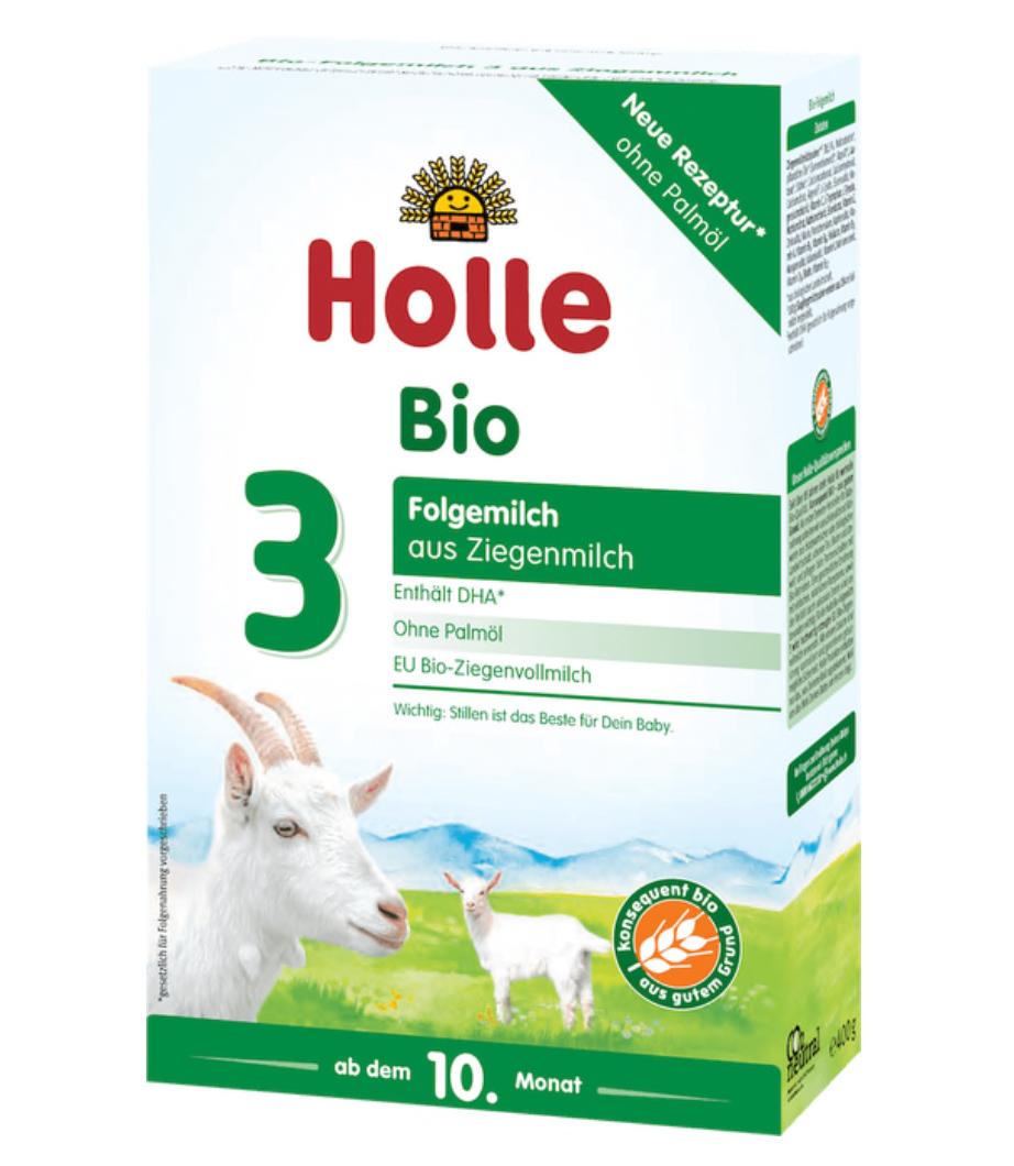 Holle stage 3 Follow on goat formula 10+ months w/DHA