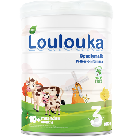 Loulouka Organic stage 3 Follow on formula 10+ months 900 gram