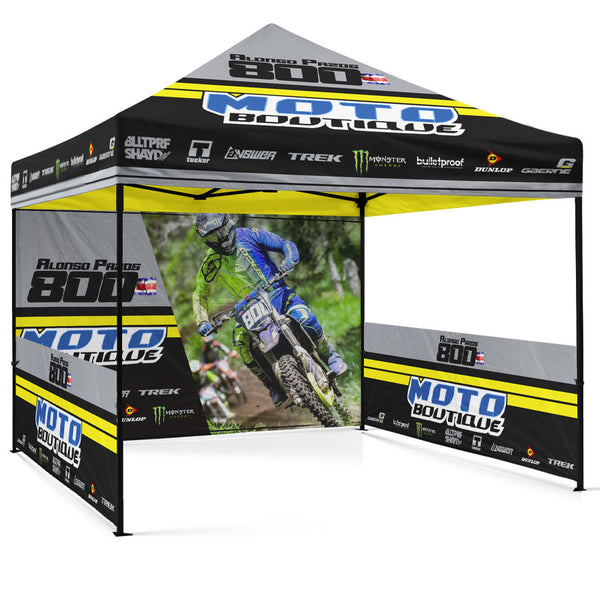 Pro-Am Package Custom Canopy