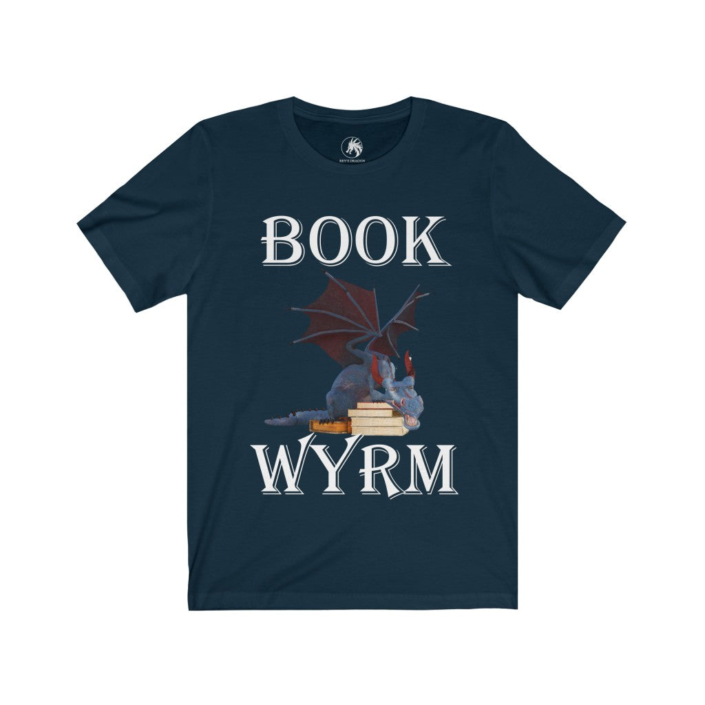 Book Wyrm T-shirt - Rey's Dragon
