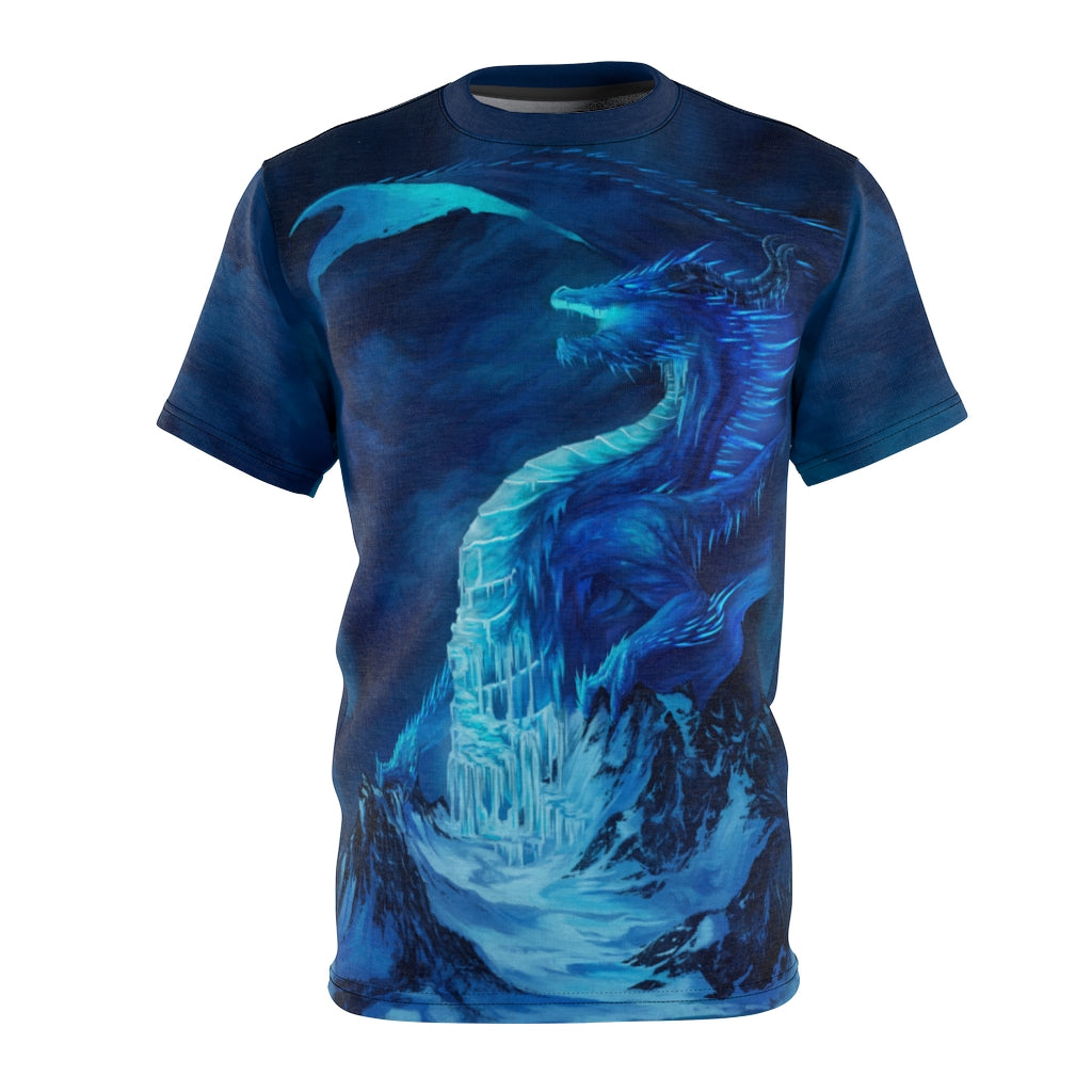 """The King of Winter"" All Over Print T-Shirt - Rey's Dragon"