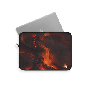 """of Fire and Stone"" - Laptop Sleeve - Rey's Dragon"