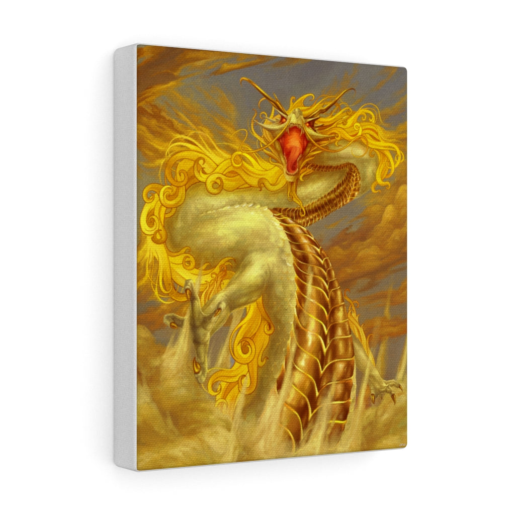 """Lord of the Skies"" canvas - Rey's Dragon"