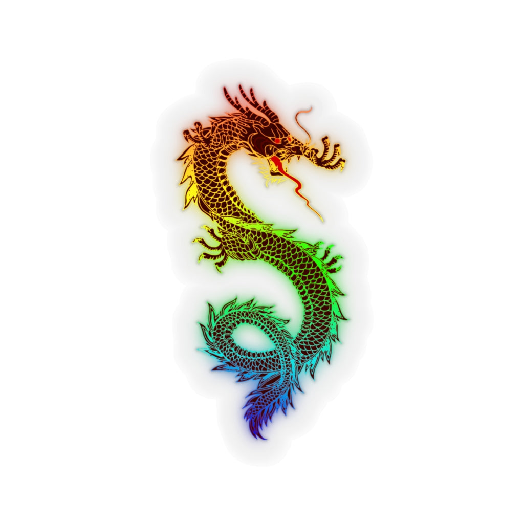 Colorful Dragon || sticker - Rey's Dragon