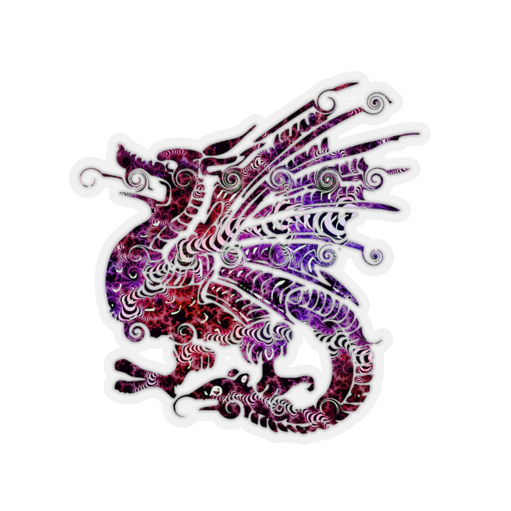 Colorful Dragon sticker - Rey's Dragon