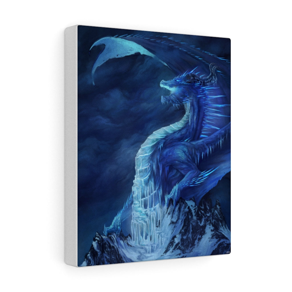 """The King of Winter"" canvas - Rey's Dragon"