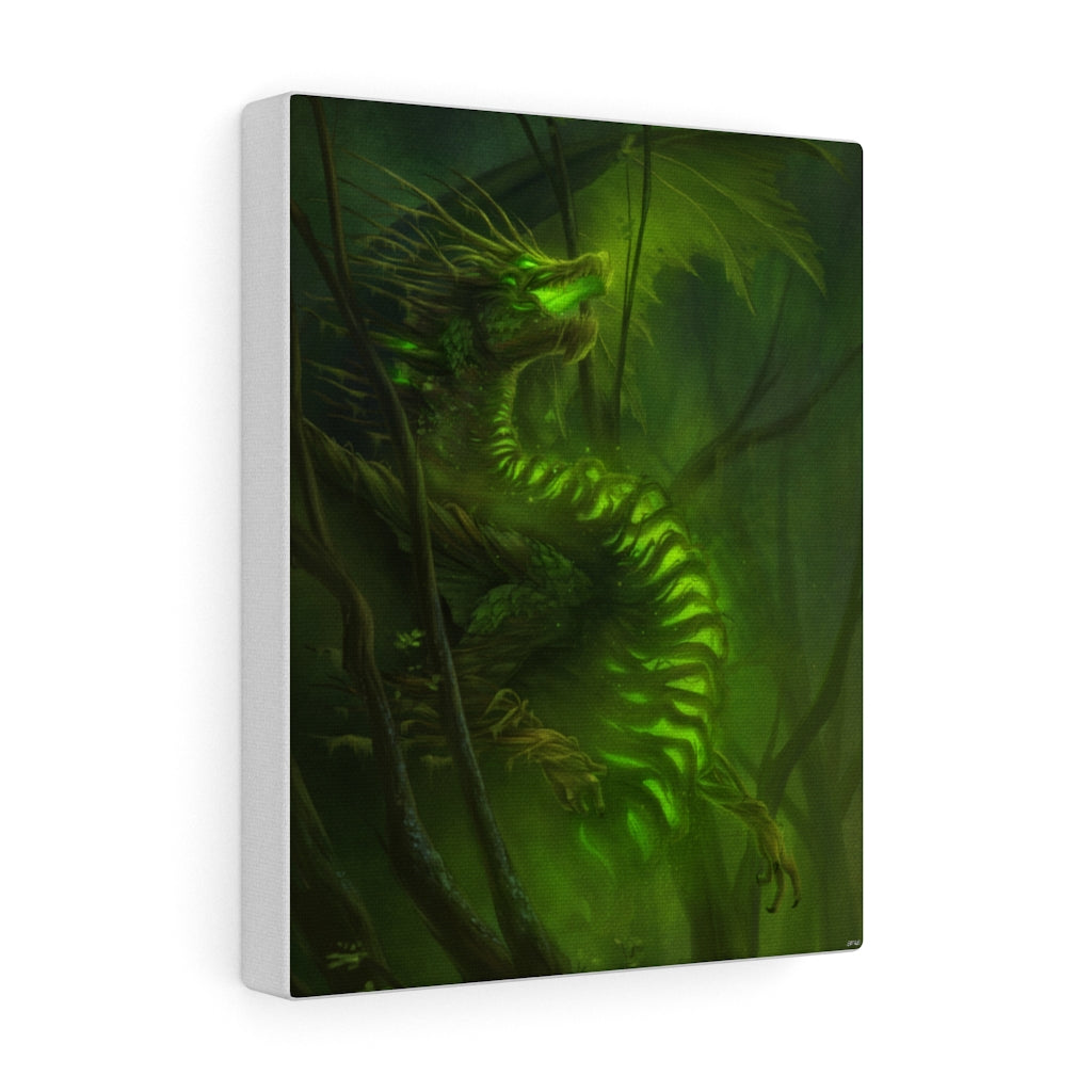 """Forest Dragon"" canvas - Rey's Dragon"