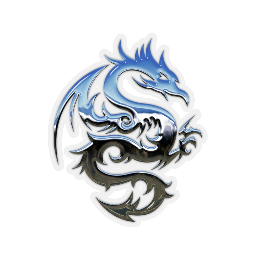 Silver Dragon sticker - Rey's Dragon