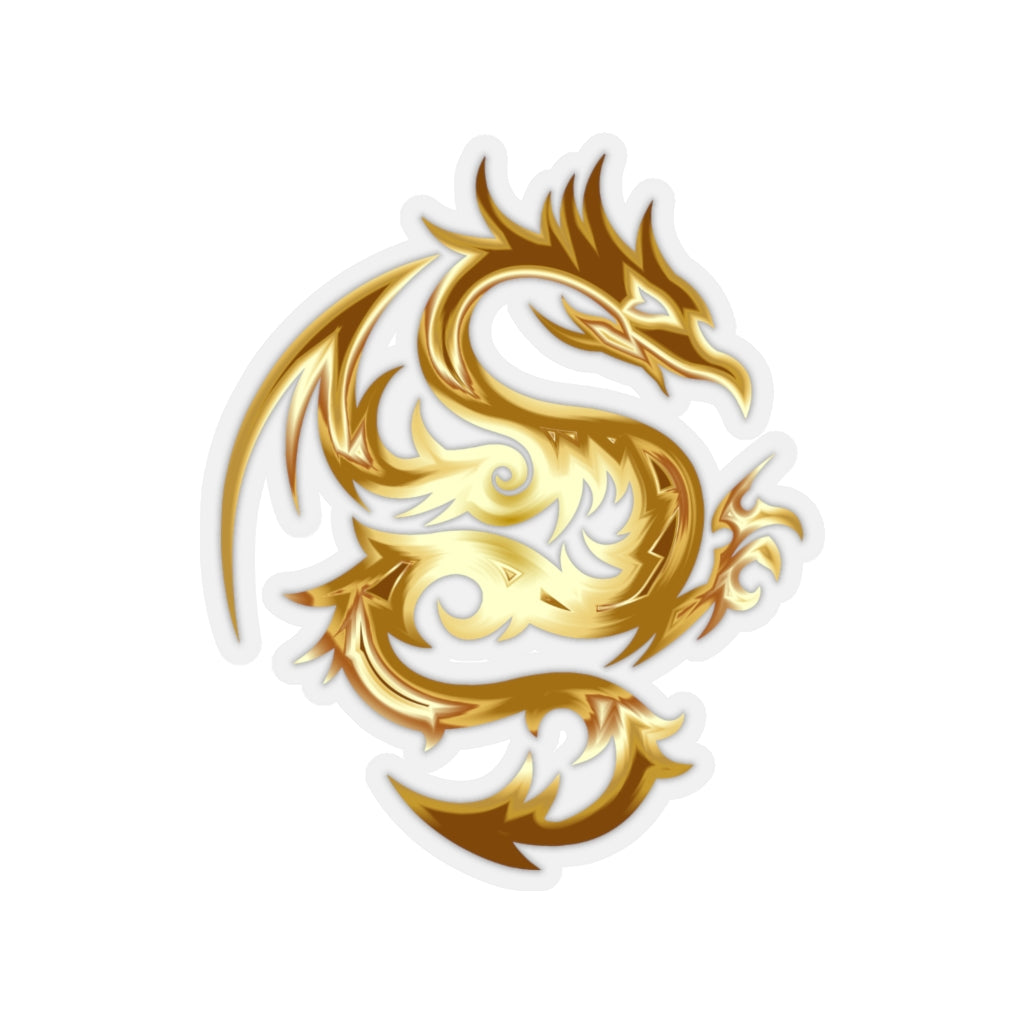Golden Dragon sticker - Rey's Dragon