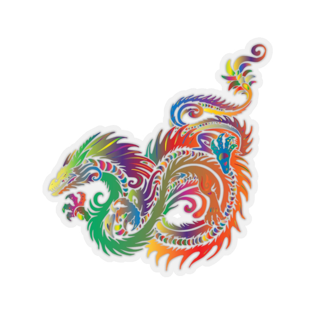 Rainbow Dragon sticker - Rey's Dragon