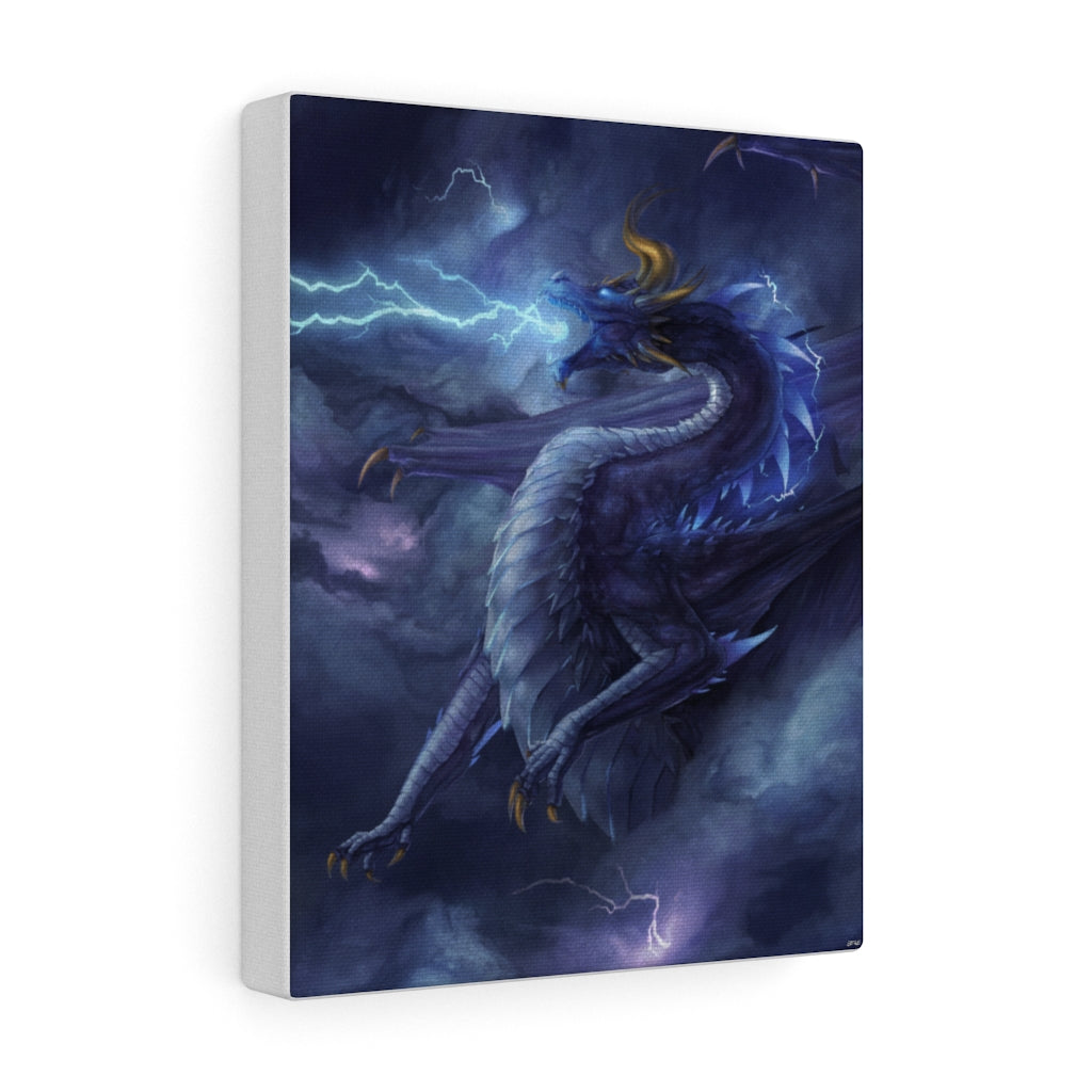 """Bringer of Storms"" canvas - Rey's Dragon"