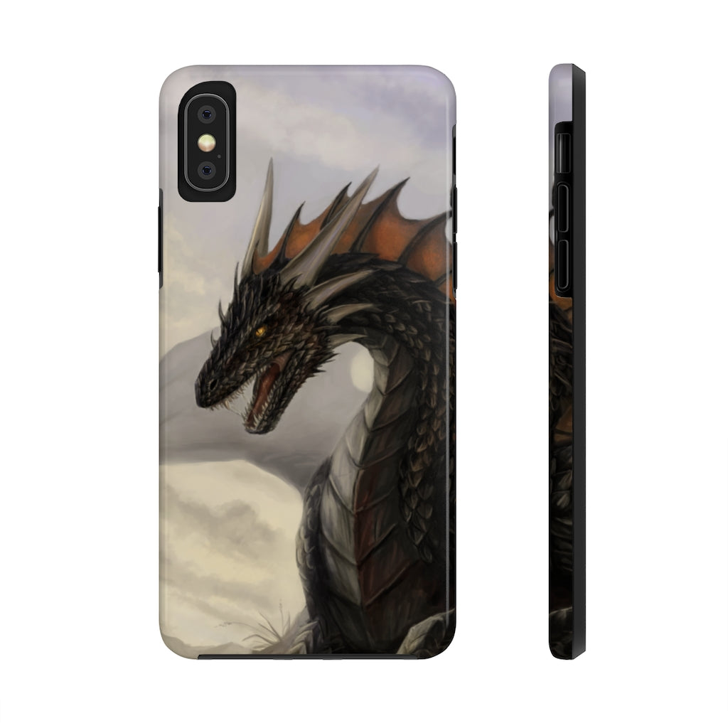 """Black Dragon"" phone case - Rey's Dragon"