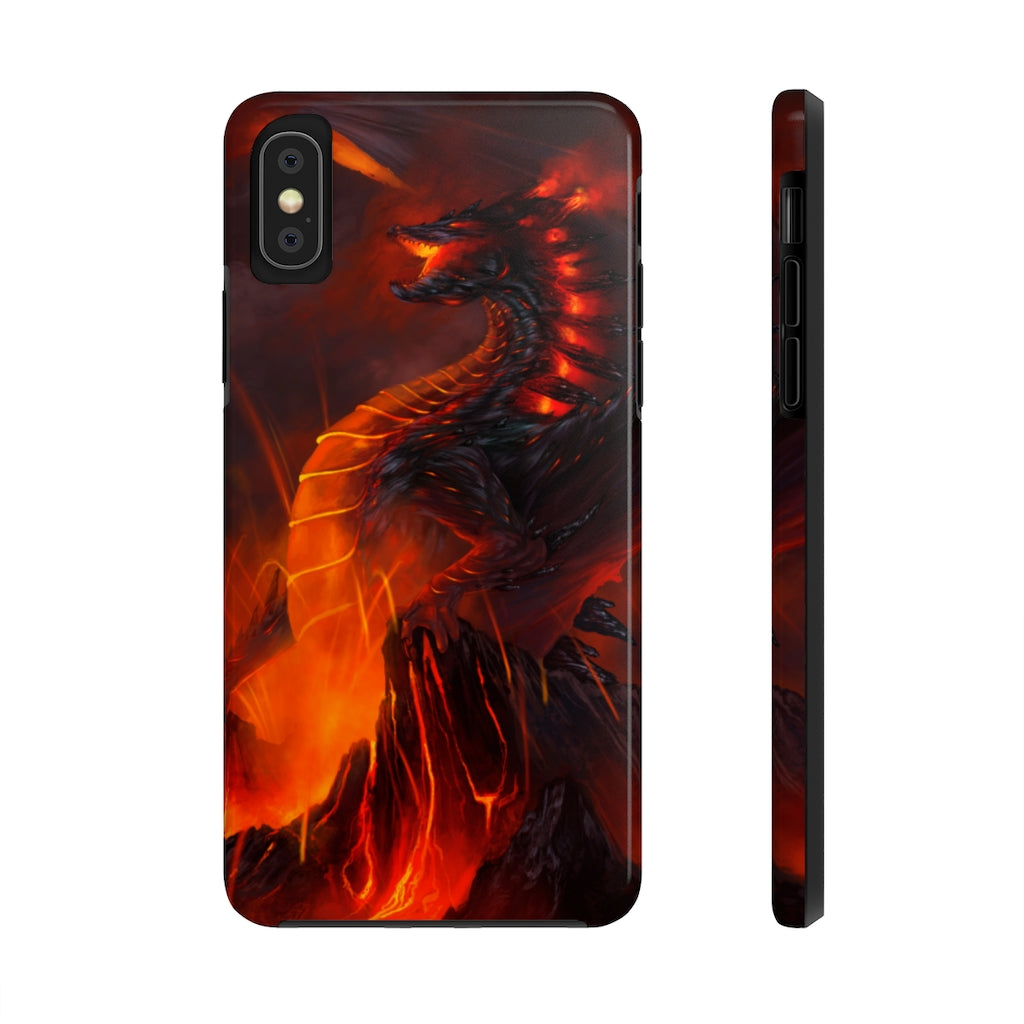 """of Fire and Stone"" phone case - Rey's Dragon"