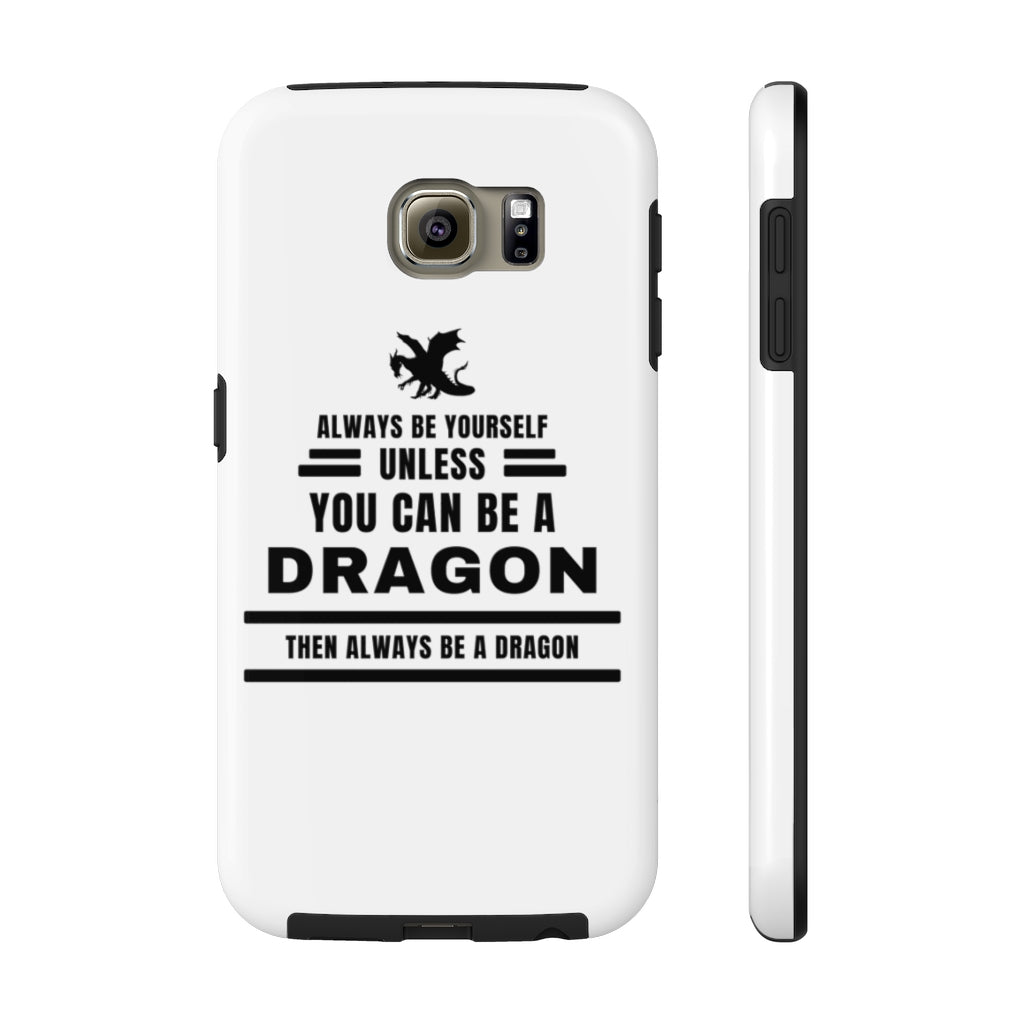 Always be a Dragon phone case - white edition - Rey's Dragon