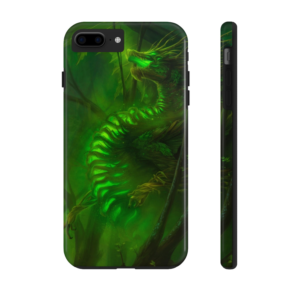 """Forest Dragon"" phone case - Rey's Dragon"