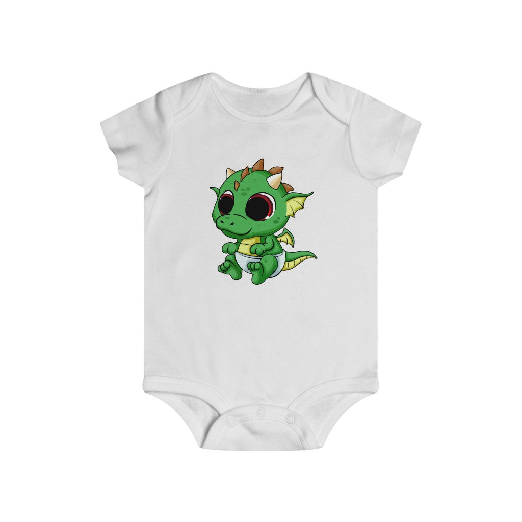 Green Baby Dragon bodysuit - Rey's Dragon